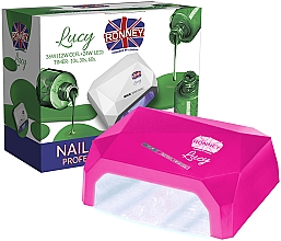 Духи, Парфюмерия, косметика Лампа CCFL+LED, темно-розовая - Ronney Profesional Lucy CCFL + LED 38W (GY-LCL-021) Lamp