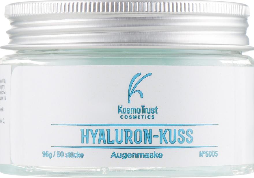 Двойные патчи для нижнего и верхнего века - KosmoTrust Cosmetics Hyaluron-Kuss