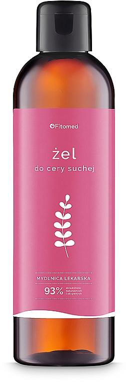 Гель для сухой и чувствительной кожи лица - Fitomed Cleansing Gel