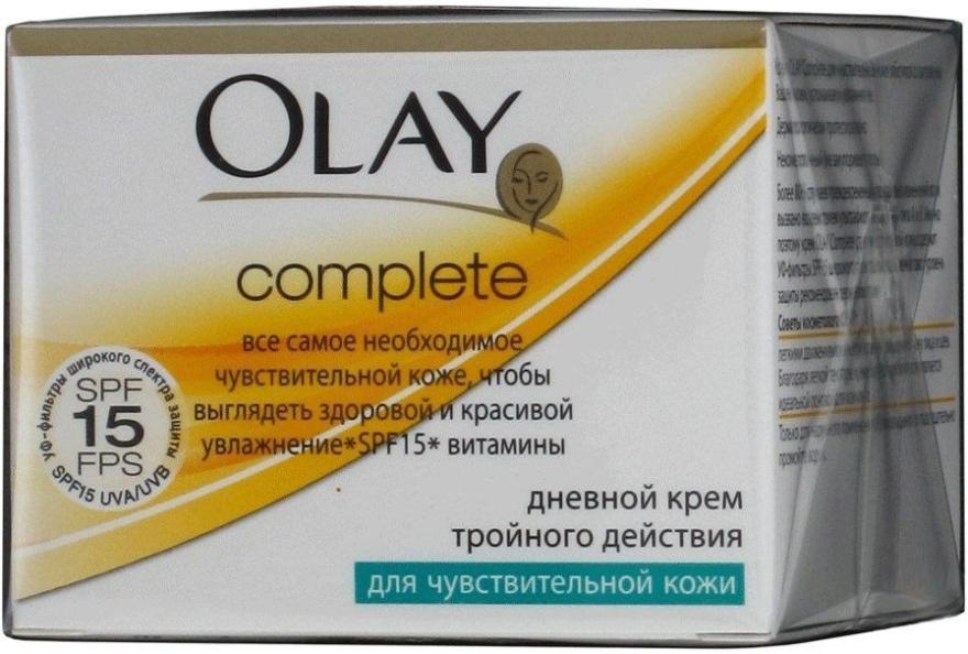 Дневной крем тройного действия для чувствительной кожи - Olay Complete Day Cream