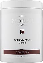 Духи, Парфюмерия, косметика Маска гелевая для тела кофейная - Norel Coffee body mask