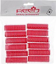 Духи, Парфюмерия, косметика Бигуди-липучки 13 мм, красные - Reed Curlers