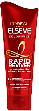 Духи, Парфюмерия, косметика Бальзам для окрашенных волос - L`Oreal Paris Elseve Rapid Reviver Dry Hair Conditioner