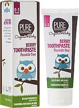 "Духи, Парфюмерия, косметика Детская зубная паста ""Ягоды"" - Pure Beginnings Baby Berry Toothpaste"