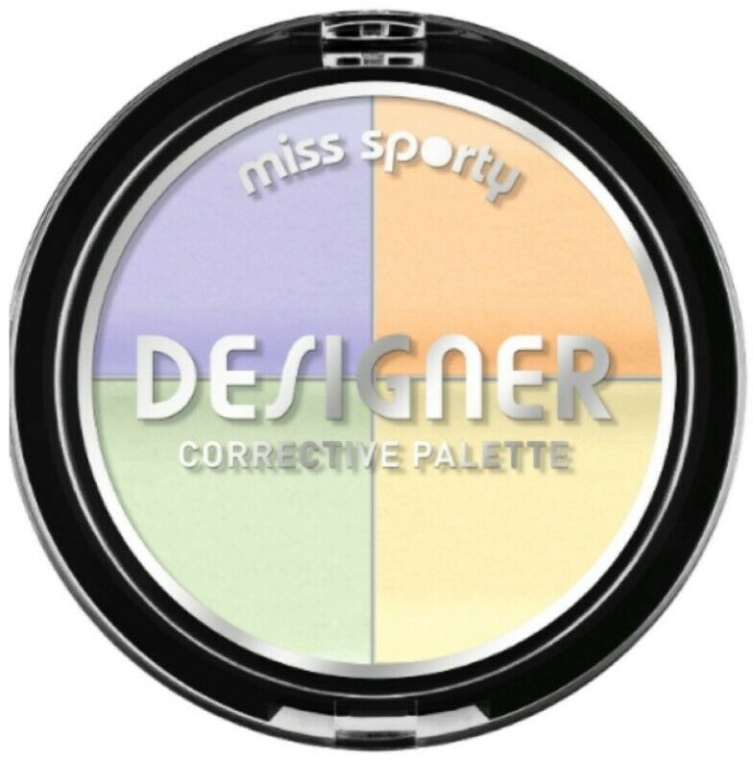Корректор для лица - Miss Sporty Designer Corrective Palette — фото N1