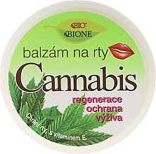 Бальзам для губ - Bione Cosmetics Cannabis Lip Balm with UV Filter and Vitamin E — фото N1