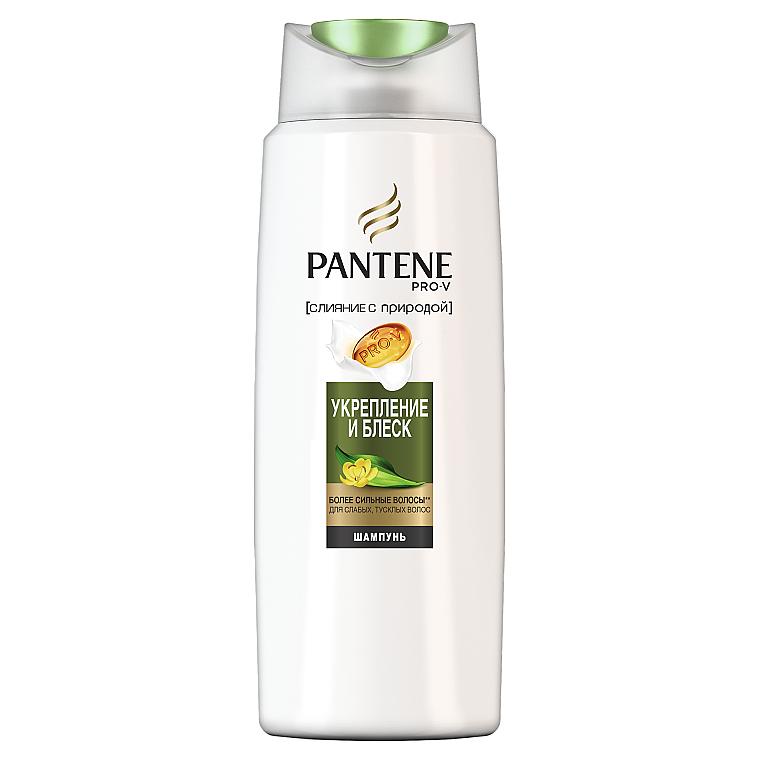 """Шампунь Слияние с Природой """"Укрепление и блеск"""" - Pantene Pro-V Nature Fusion Strength and Moisture Shampoo"""