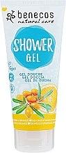 """Духи, Парфюмерия, косметика Гель для душа """"Облепиха-апельсин"""" - Benecos Natural Care Shower Gel"""