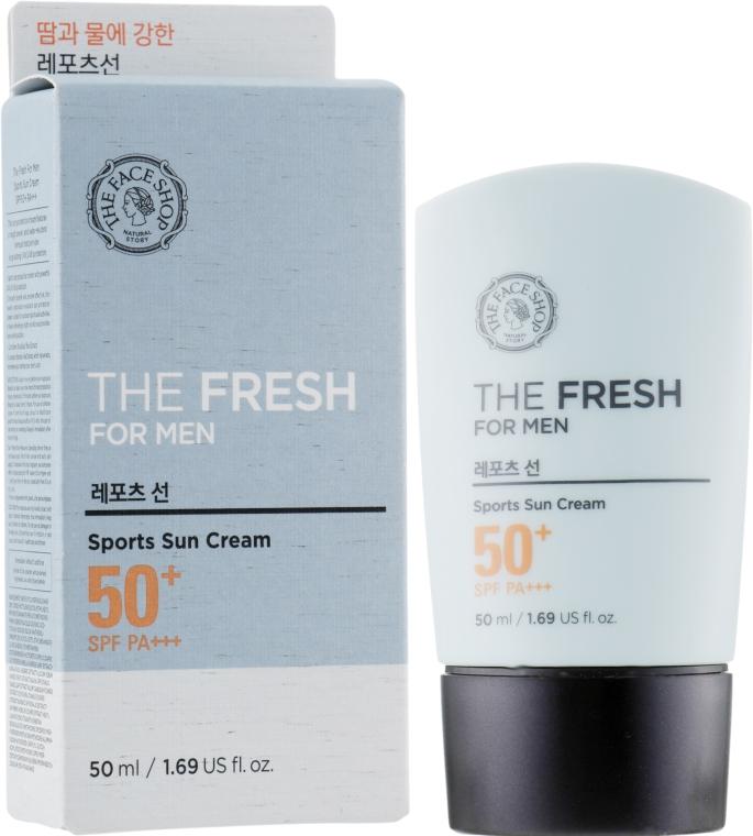 Сонцезахисний крем - The Face Shop The Fresh For Men Sports Sun Cream — фото N1