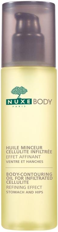 Массажное дренажное масло для похудения - Nuxe Body Body-Contouring Oil For Infiltrated Cellulite