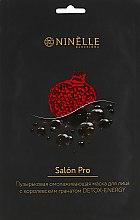 Духи, Парфюмерия, косметика Омолаживающая пузырьковая маска для лица с гранатом - Ninelle Salon Pro Detox-Energy