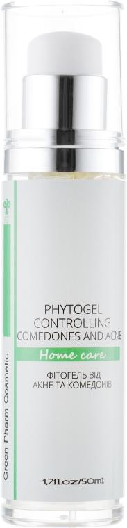 Фитогель от акне и комедонов - Green Pharm Cosmetic Phytogel Acne And Comedones PH 5,5