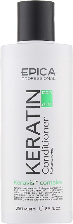 Кондиционер для реконструкции и глубокого восстановления волос - Epica Professional Keratin Pro Conditioner