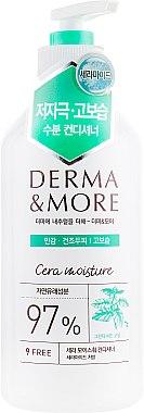 Кондиционер для кожи головы успокаивающий, очищающий и освежающий - KeraSys Derma & More Cera Moisture Conditioner
