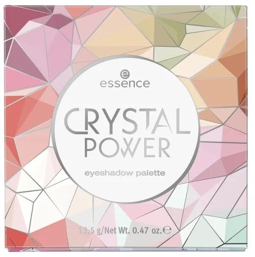 Палетка теней для век - Essence Crystal Power Eyeshadow Palette