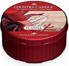 "Духи, Парфюмерия, косметика Чайная свеча ""Фланель"" - Country Candle Flannel Daylight"