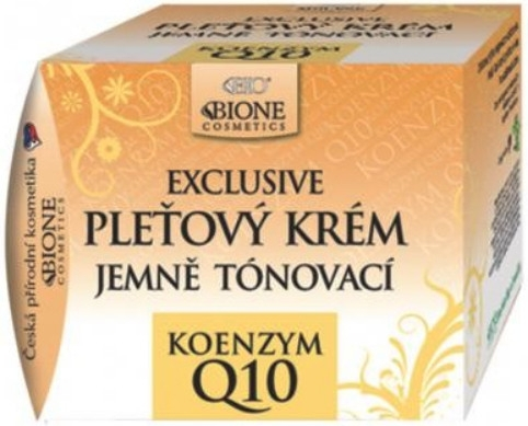 Крем для лица тонирующий - Bione Cosmetics Exclusive Gentle Toning Facial Cream With Argan Oil Q10