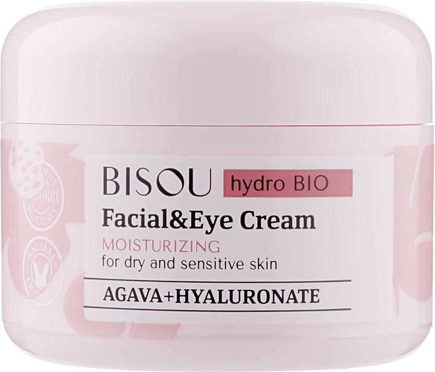 """Крем для лица и области вокруг глаз """"Увлажняющий"""" - Bisou Hydro Bio Facial Eye Cream"""