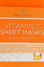 Увлажняющая маска для лица - Skin Academy Vitamin C Sheet Masks — фото N1
