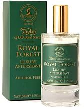 Духи, Парфюмерия, косметика Taylor of Old Bond Street Royal Forest Aftershave Lotion - Лосьон после бритья