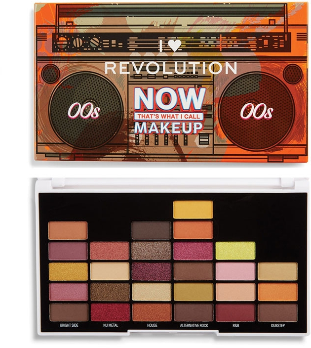 Палетка теней для век - I Heart Revolution NOW That's What I Call Makeup Noughties