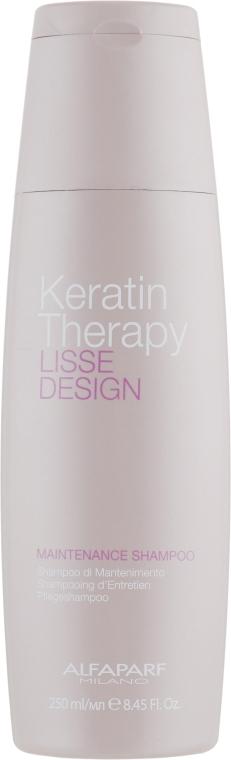 Alfaparf Lisse Design Keratin Therapy Maintenance Shampoo - Кератиновый шампунь: купить по лучшей цене в Украине | Makeup.ua