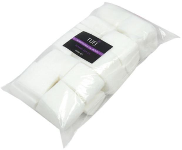 Безворсовые салфетки, 3х4, 1000 шт - Tufi Profi