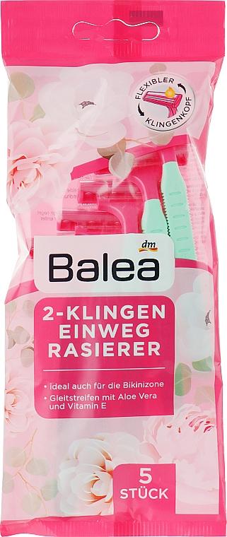 Одноразовые бритвы с двумя лезвиями - Balea Einwegrasierer 2-Klingen