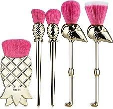 Парфумерія, косметика Набір пензлів для макіяжу - Tarte Cosmetics Let's Flamingle Brush Set