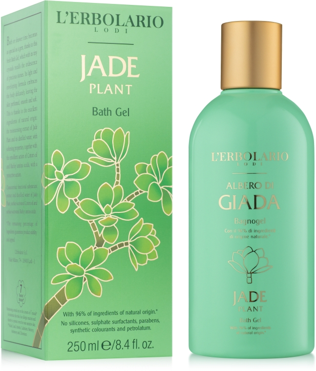 L'Erbolario Albero di Giada Jade Plant - Пена для ванн