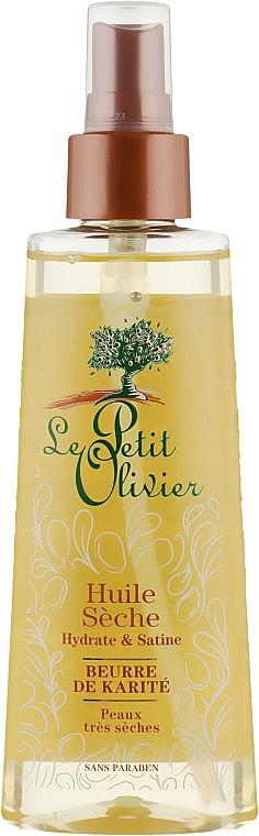 Сухое масло для тела - Le Petit Olivier Body Care With Shea Butter