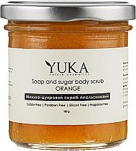 """Духи, Парфюмерия, косметика Мыльно-сахарный скраб для тела """"Апельсиновый"""" - Yuka Soap And Sugar Body Scrub """"Orange"""""""