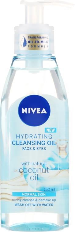Очищающее масло для нормальной кожи - Nivea Hydrating Cleansing Oil