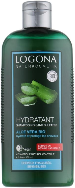 БИО-шампунь увлажнение и защита для сухих волос с Алоэ Вера - Logona Hair Care Shampoo