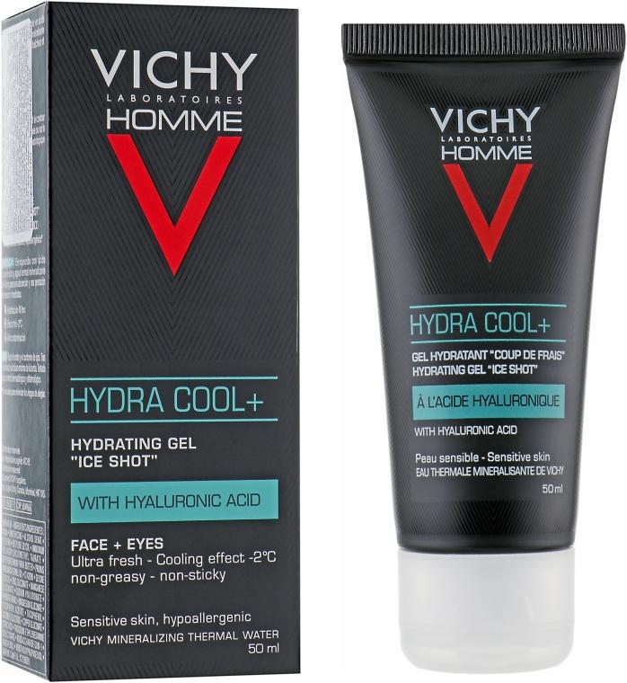 Увлажняющий гель с охлаждающим эффектом для лица и контура глаз - Vichy Homme Hydra Cool+