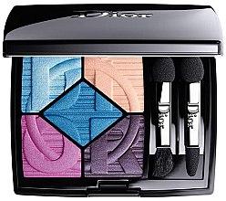 Духи, Парфюмерия, косметика Палетка теней для век - Dior 5 Couleurs Eyeshadow Palette Color Games Limited Edition