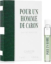 Духи, Парфюмерия, косметика Caron Pour Un Homme de Caron - Туалетная вода (пробник)