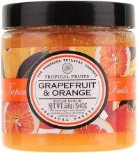 """Духи, Парфюмерия, косметика Сахарный скраб для тела """"Грейпфрут и апельсин"""" - Tropical Fruits Scrub"""