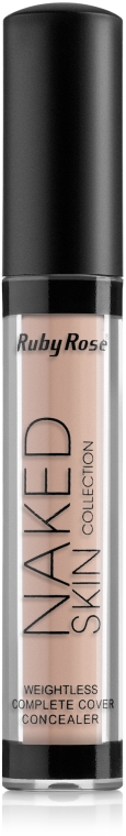 Жидкий консилер - Ruby Rose Naked Skin Weightless Complete Cover Concealer