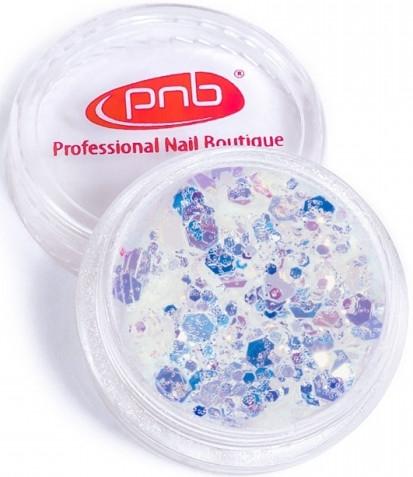 Глиттер для дизайна ногтей - PNB Galaxy Glitter