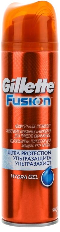 "Гель для бритья ""Ультра Защита"" - Gillette Fusion HydraGel Ultra Protection Shave Gel For Men"
