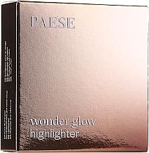 Духи, Парфюмерия, косметика Компактный хайлайтер для лица и тела - Paese Wonder Glow Highlighter