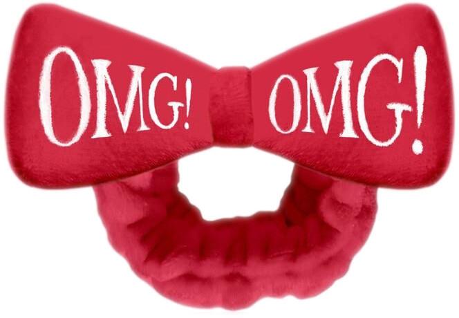 Косметическая повязка для волос, красная - Double Dare OMG! Red Hair Band