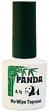 Духи, Парфюмерия, косметика Универсальный топ без липкого слоя - Panda No Wipe Top Coat