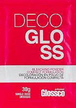 Духи, Парфюмерия, косметика Осветляющая пудра для волос - Glossco Color Decogloss (пробник)