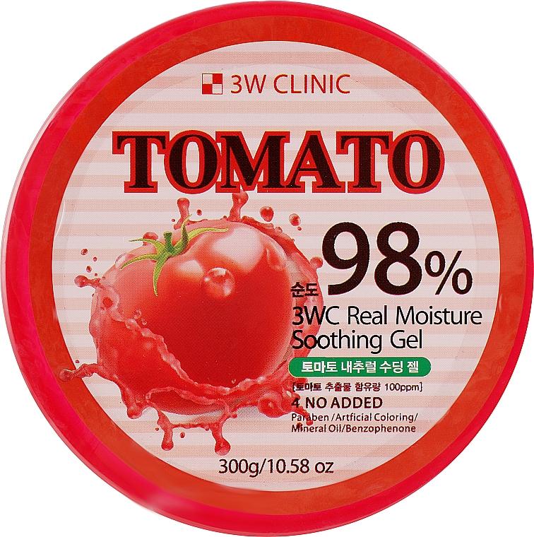 Универсальный гель с экстрактом томата - 3W Clinic Tomato Moisture Soothing Gel