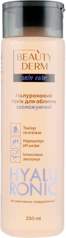 Тоник с гиалуроновой кислотой - Beauty Derm Hyaluron Tonic