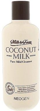 Очищающее кокосовое молочко для лица - Neogen Coconut Milk Pure Mild Cleanser — фото N1