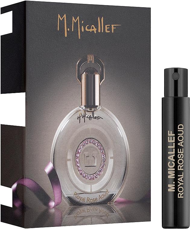 M. Micallef Royal Rose Aoud - Парфюмированная вода (пробник)