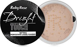 Духи, Парфюмерия, косметика Рассыпчатая пудра для лица - Ruby Rose Bright Touch Setting Perfectiing Loose Powder
